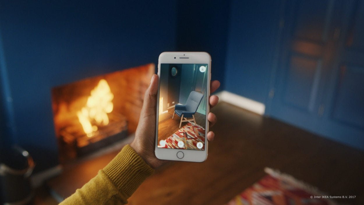 Ikea place Augmented Reality Customer Journey